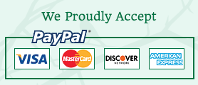 PayPal Proudly Accepted